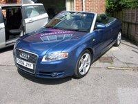 2006 AUDI A4 2.0 TDI SPORT 2d 141 BHP £4995.00