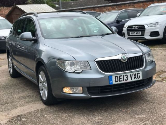 2013 13 SKODA SUPERB 2.0 S TDI CR DSG 5dr AUTO ESTATE 140 BHP