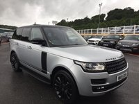 USED 2015 15 LAND ROVER RANGE ROVER Autobiography SDV8 4.4 Black Package, Contrast opening panoramic roof, DualView, Meridian & more