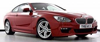 2011 BMW 6 SERIES 3.0 640d M Sport Coupe Auto 2dr £21995.00