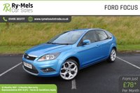 USED 2009 09 FORD FOCUS 2.0 TITANIUM TDCI 5d 136 BHP SERVICE HISTORY, VERY CLEAN CAR