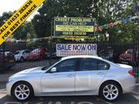 USED 2014 63 BMW 3 SERIES 2.0 316D ES 4d 114 BHP STUNNING SILVER METALLIC WITH ANTHRACITE BLACK CLOTH. ONE OWNER WITH FULL BMW SERVICE HISTORY. ALLOY WHEELS. AIR CONDITIONING. THE FINANCE EXPERTS.