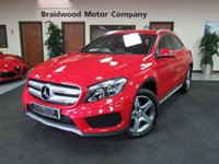 USED 2016 16 MERCEDES-BENZ GLA-CLASS 2.1 GLA 200 D AMG LINE 5d AUTO 134 BHP