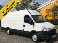 USED 2014 63 IVECO-FORD DAILY 35S11 H2 XLWB 3950wb Jumbo panel van Low Mileage Rwd Free UK Delivery
