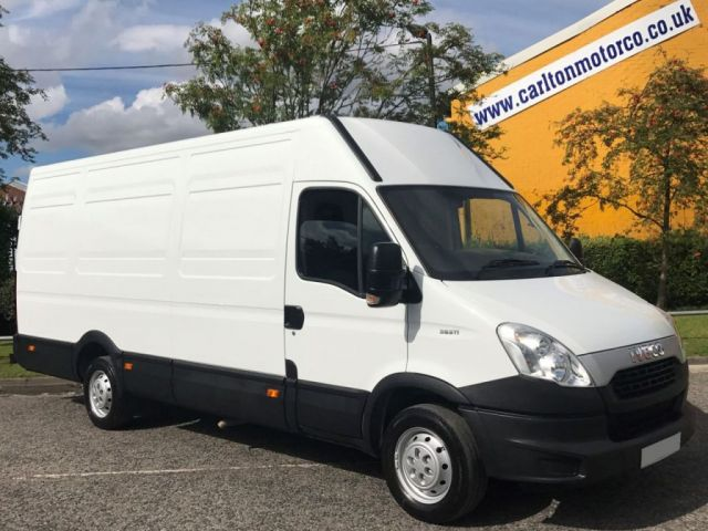 2014 63 IVECO-FORD DAILY 35S11 H2 Ex-LWB Jumbo panel van 3950wb Low Mileage Rwd Free UK Delivery