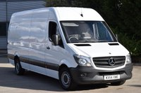 USED 2014 14 MERCEDES-BENZ SPRINTER 2.1 313 CDI LWB 6d 129 BHP HIGH ROOF NEW SHAPE EURO 5 DIESEL PANEL VAN ONE OWNER LOVELY DRIVE BARGAIN PRICE