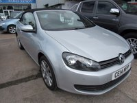 2014 VOLKSWAGEN GOLF 1.6 SE TDI BLUEMOTION TECHNOLOGY 2d 104 BHP £10995.00