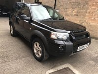 2005 LAND ROVER FREELANDER 2.0 TD4 ADVENTURER 5d 110 BHP £3500.00