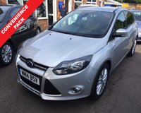 USED 2014 14 FORD FOCUS 1.0 ZETEC NAVIGATOR 5d 99 BHP THIS VEHICLE IS AT SITE 1 - TO VIEW CALL US ON 01903 892224