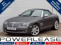 USED 2005 05 CHRYSLER CROSSFIRE 3.2 V6 2d AUTO 215 BHP NAV HEATED LEATHER SEATS FSH