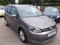 USED 2011 11 VOLKSWAGEN TOURAN 2.0 SE TDI 5d 142 BHP 2 OWNERS, FULL SERVICE HISTORY, STUNNING EXAMPLE THROUGHOUT, EXCELLENT SPEC,  DRIVES SUPERBLY