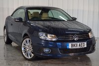 USED 2011 11 VOLKSWAGEN EOS 2.0 SPORT TDI BLUEMOTION TECHNOLOGY 2d 139 BHP