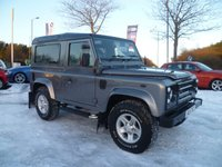 USED 2006 56 LAND ROVER DEFENDER 2.5 90 TD5 COUNTY STATION WAGON 3d 120 BHP EXTREMELY CLEAN EXAMPLE, SERVICE HISTORY AND LOADS OF EXTRAS, FITTED TRACKER