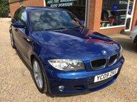 2009 BMW 1 SERIES 2.0 116D M SPORT 5d 114 BHP LOW MILEAGE IN MET BLUE £6490.00