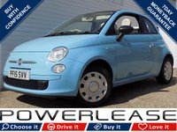 USED 2015 15 FIAT 500 1.2 C POP 3d 69 BHP 1 OWNER, FSH, STUNNING EXAMPLE