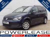 USED 2011 11 VOLKSWAGEN TOURAN 1.6 S TDI BLUEMOTION TECHNOLOGY 5d 103 BHP 7SEATS CRUISE CONT P/SENSORS