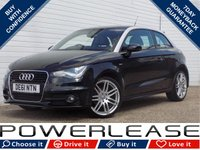 USED 2011 61 AUDI A1 1.2 TFSI S LINE 3d 84 BHP £30 ROAD TAX BLUETOOTH A/C