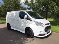 2014 FORD TRANSIT CUSTOM NO VAT 2.2 290 LIMITED LR 125 BHP RS STYLING PACK AIR CON ALLOYS £16495.00