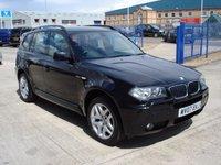 2007 BMW X3 2.0 D M SPORT 5d 148 BHP £4750.00