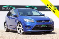 "USED 2008 08 FORD FOCUS 2.5 ST-2 3d 223 BHP **£0 DEPOSIT FINANCE AVAILABLE**SECURE WITH A £99 FULLY REFUNDABLE DEPOSIT** FULL SERVICE HISTORY, FULL MOT RECARO UPHOLSTERY, SONY CD PLAYER, PRIVACY GLASS, 18"" ALLOYS"