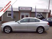 2010 BMW 5 SERIES 2.0 520D SE 4DR AUTOMATIC  DIESEL 181 BHP £10800.00