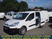 USED 2015 CITROEN BERLINGO ENTERPRISE L1 HDI WITH 3 SEATS & AIR CON DIRECT FROM CITROEN