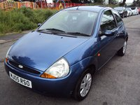 USED 2005 05 FORD KA 1.3 COLLECTION A/C 3d 69BHP colour coded+aircon+cd+pas+