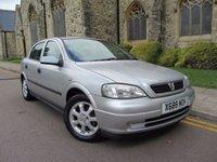 2001 VAUXHALL ASTRA 1.6 CLUB 16V 5d AUTO 99 BHP £995.00