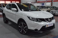 USED 2014 14 NISSAN QASHQAI 1.6 DCI TEKNA 5d AUTO 128 BHP A BEAUTIFUL EXAMPLE WITH LOW MILEAGE AND SAT NAV