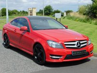 2011 MERCEDES-BENZ C CLASS 2.1 C220 CDI BLUEEFFICIENCY AMG SPORT 2d AUTO 170 BHP £12990.00