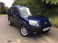 2010 FIAT DOBLO 1.4 8V DYNAMIC H/R 5d 77 BHP PLEASE CALL TO VIEW ONLY 9800 MILES FROM NEW £5450.00