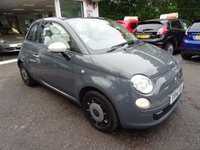 USED 2014 14 FIAT 500 0.9 CONVERTIBLE TWINAIR COLOUR THERAPY 3d 85 BHP Low Mileage, Fiat Service History + Just Serviced by ourselves, One Owner from new, MOT until May 2018, Excellent on fuel! FREE Road Tax!