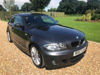 USED 2007 57 BMW 1 SERIES 2.0 120D M SPORT 3d 175 BHP HEATED LEATHER
