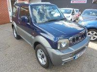 2006 SUZUKI JIMNY 1.3 JLX PLUS 3d 83 BHP £2490.00