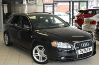 USED 2005 55 AUDI A4 2.0 TDI S LINE 5d 140 BHP FULL SERVICE HISTORY + CAMBELT AND WATER PUMP CHANGE + ELECTRIC WINDOWS + AIR CONDITIONING
