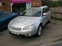 2007 SUBARU OUTBACK 2.5 SE AWD 5d AUTO 165 BHP £5995.00