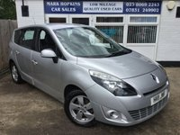 USED 2011 11 RENAULT SCENIC 1.5 DYNAMIQUE TOMTOM DCI FAP 5d 109 BHP 42K FSH  ONE LADY OWNER  7 SEATER  EXCELLENT CONDITION