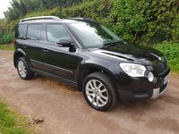 USED 2009 59 SKODA YETI 2.0 ELEGANCE TDI CR 5d 138 BHP **LOVELY CONDITION**EXTENSIVE HISTORY**SMOOTH DRIVE**
