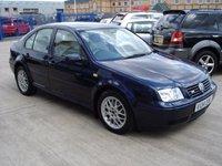 1999 VOLKSWAGEN BORA 2.3 V5 4d 148 BHP £750.00