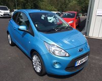 USED 2014 64 FORD KA 1.2 ZETEC 3d 69 BHP THIS VEHICLE IS AT SITE 2 - TO VIEW CALL US ON 01903 323333