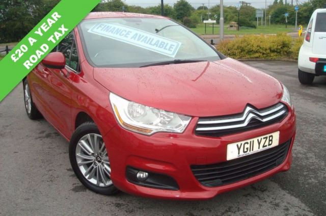 2011 11 CITROEN C4 1.6 VTR PLUS HDI 5d 91 BHP LOW ROAD TAX ONLY £20 A YEAR