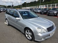 USED 2005 55 MERCEDES-BENZ C CLASS 3.0 C320 CDI AVANTGARDE SE 5d 222 BHP Black leather, COMAND Sat Nav, sunroof, heated seats ++
