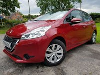 2012 PEUGEOT 208 1.2 ACCESS PLUS 5d 1 OWNER FROM NEW £4475.00