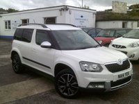 USED 2014 14 SKODA YETI 1.6 OUTDOOR ELEGANCE GREENLINE II TDI CR 5d 103 BHP
