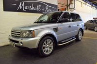 USED 2007 07 LAND ROVER RANGE ROVER SPORT 2.7 TDV6 SPORT HSE 5d AUTO 188 BHP LOVELY CAR THROUGHOUT - SUNROOF - SAT NAV