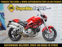 USED 2007 57 DUCATI MONSTER S2R  GOOD & BAD CREDIT ACCEPTED, OVER 500+ BIKES