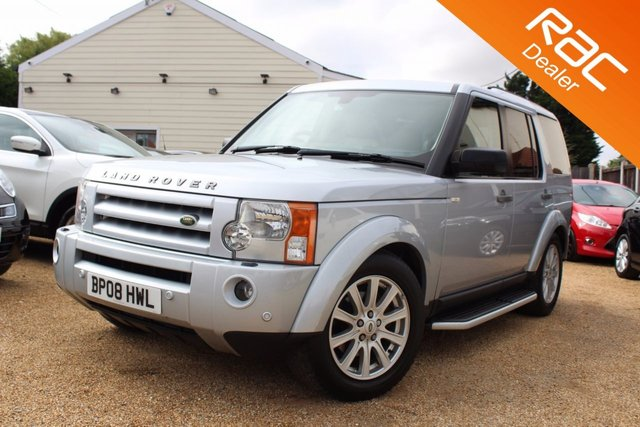 View our 2008 08 LAND ROVER DISCOVERY 2.7 3 TDV6 SE 5d AUTO 188 BHP