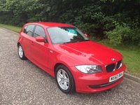 USED 2010 60 BMW 1 SERIES 2.0 116I SPORT 5d 121 BHP 6 MONTHS PARTS+ LABOUR WARRANTY+AA COVER
