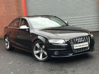 USED 2011 11 AUDI S4 3.0 QUATTRO 4d 329 BHP FASH+VERY RARE MANUAL+MMI NAV