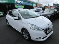USED 2015 15 PEUGEOT 208 1.2 ALLURE 5d 82 BHP DRIVE AWAY TODAY..CALL 01543 379066